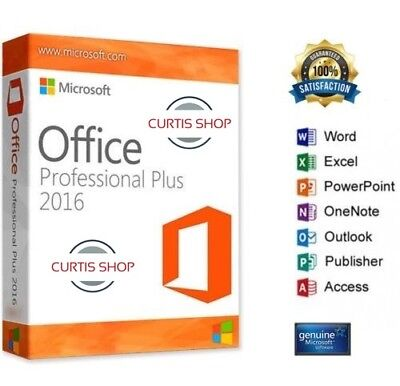 Oferta Office 2016 Professional Plus  Para Windows Español