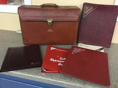National Biscuit Company Nabisco Salesman Leather case w/Contents