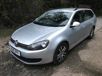 VW Golf Estate se mk6 1.6tdi bluemotion 2010 spares or repairs