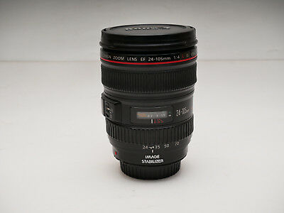 Canon EF 24-105mm f/4 IS L AF USM USED Lens