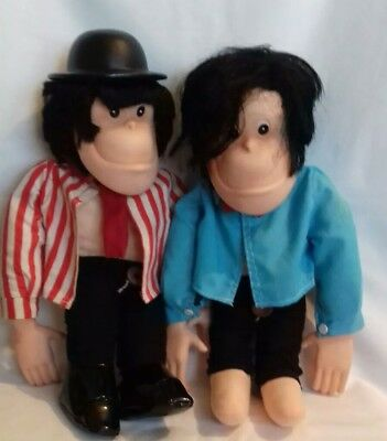 Vintage 1970S Brooke Bond Chimp Monkeys Dolls Pg Tips Mr Shifter Scientist