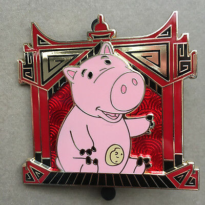 pins disney  serie calendrier chinois  limited edition 250 cochon