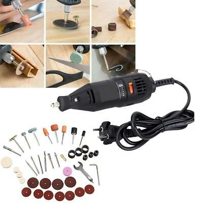 40PC Electric Grinder Polishing Mini Rotary Power Drill Accessories Kit Tool Set