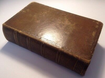 Holy Bible, Campbell's Bible, John Campbell Notes, 1857 Antique HB Rare