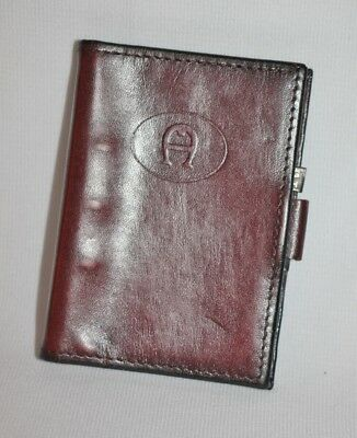 Vintage ETIENNE AIGNER - Small Address Book