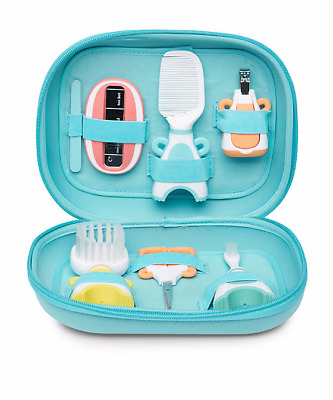 Mothercare Baby Grooming Set -Clippers, Scissors, Toothbrush, Brush, Thermometer