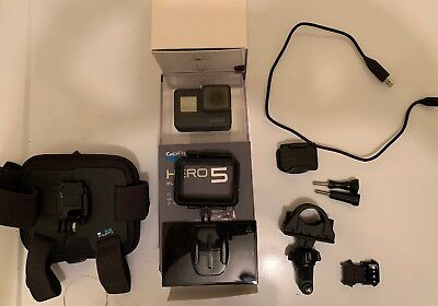 GoPro Hero 5 Black Edition Action Camera + Loads Of Accessories
