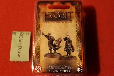 Games Workshop The Hobbit Palace Guard Captains Lord of the Rings New LoTR Resin