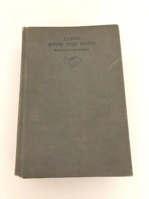 GONE WITH THE WIND Margaret Mitchell October 1936 Edition Hardcover Book