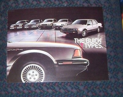 "1983 Buick   ""The Buick T Types""  Sales Brochure"