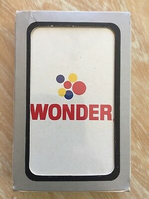 Vintage Wonder Bread Playing Cards Deck