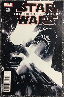 Star Wars: The Force Awakens #5 1:75 B&W Albuquerque Variant