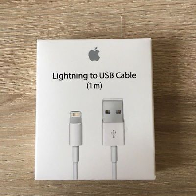 Genuine 1M Apple Lightning USB Charger Lead Cable For iPhone 7 iPhone 7Plus