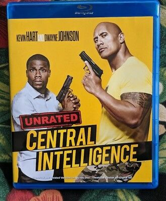 Central Intelligence (Blu-ray Disc, 2016, Unrated Digital UltraViolet)