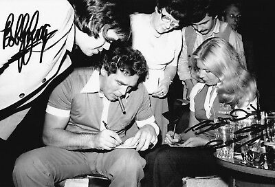 SALE GEORGE & FLOWERS DARTS HAND SIGNED PHOTO AUTHENTIC + COA - 12x8