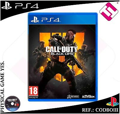 Call Of Duty Black Ops Iiii Set Ps4 Physical Sealed Playstation 4 Spanish