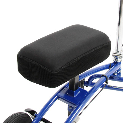Knee Scooter Memory Foam - Two Inch Thick Pad and Cover - Fits Most Walker Model