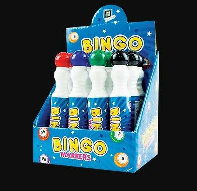 1 X  Bingo Marker - Dabber : 4 Different Colours : Uk