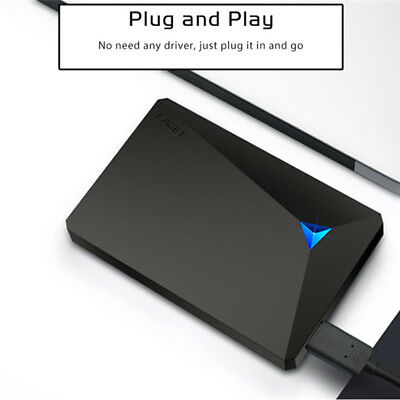 """1/2/3 TB 2.5"""" USB 3.0 Portable External Hard Drive HDD Hard Disk 107Mb/s For PC"""