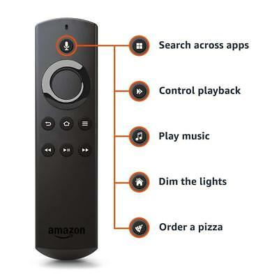 Alexa Voice REPLACEMENT Remote for Amazon Fire TV and Fire TV Stick REMOTE ONLY