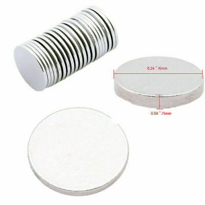5-100Pcs Super Strong Round Disc Magnets Rare-Earth Neodymium Fridge Magnet N35