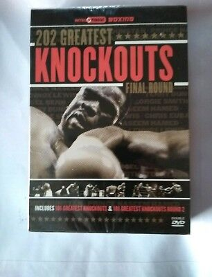 202 Greatest Knockouts (DVD, 2007, 2-Disc Set)