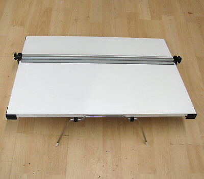 A3 A2 Drawing Board Parallel Motion Tilted Stand Art, Architect, Studio, WOODEN!