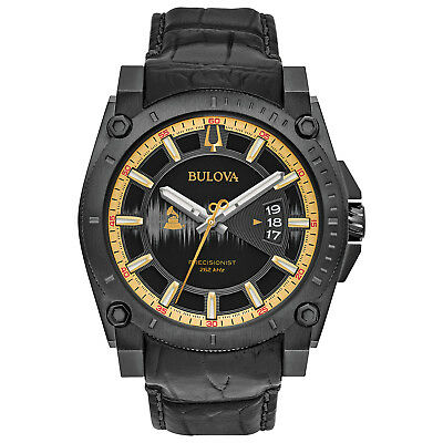 Bulova Precisionist Men's Special Grammy 2017 Edition Quartz 46.5mm Watch 98B293