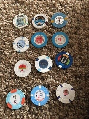 $1.00 lot of Casino Chips  #3