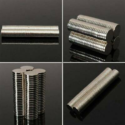 1-100Pcs Cylinder N35 Poweful Magnet Rare Earth Super Strong Magnetic Tool 8*1mm