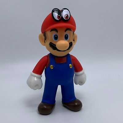 Super Mario Odyssey Plastic Action Figure Super Mario Bros PVC Toy Doll 5""