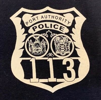 PAPD Port Authority Police Department T-shirt New York Sz XL New NYPD