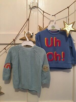 baby girls clothes 12-18 months bundle M&S - Jumper & Cardigan