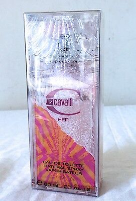 Roberto Cavalli Just For Her edt 60 ml vintage sealed