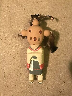 Vintage Mama Mud Head Doll...Made in Taos, NM by Chocti