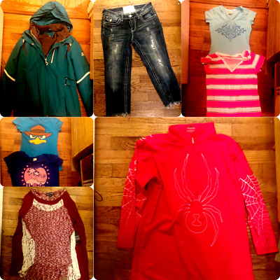 Teen Girls  Spring Winter MIXED Clothes Lot 18 Items