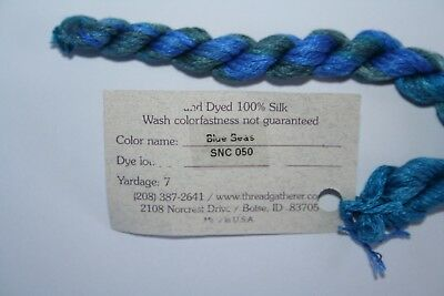 Thread Gatherer Silken Ribbons 4 mm You Choose Your Colors 070-994 97-13 9912