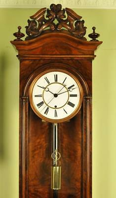 Lenzkirch Vienna Regulator Wall Clock