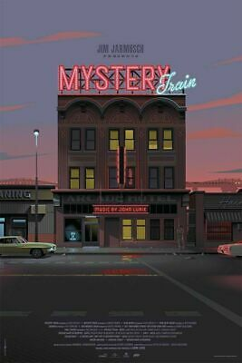 Mystery Train - By Laurent Durieux - 24x36 Mondo Poster Print XX/275
