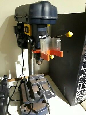 Titan Bench Pillar Drill Press 13mm Chuck Capacity