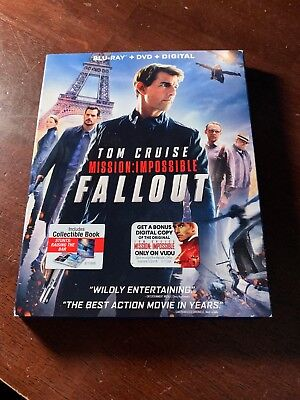 Mission Impossible: Fallout Blu-ray Only - No Digital
