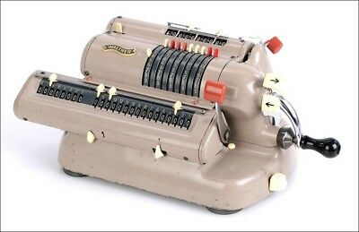 Walther Mechanical Calculator. Germany, 1960s
