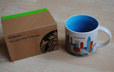 STARBUCKS *You are Here* ATLANTA Mug Tasse 414 ml mit SKU neu