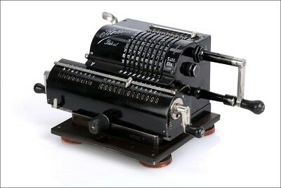 Antique Rema Mechanical Calculator. Excellent Working Order. Germany, 1920s