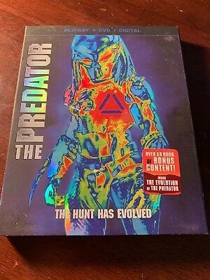 The Predator Blu-ray Only Used