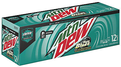 Mountain Dew Baja Blast - 12 pack of unopened cans