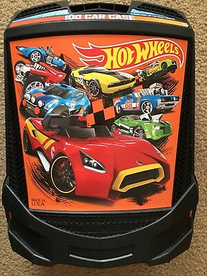 Mattel Hot Wheels Rolling Car Carrying Case-Holds 100 Cars