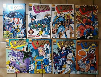 Lot 8 Comics VF Cable édition Semic collection version intégrale