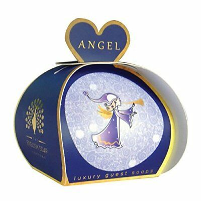 English Soap Company Shea Butter Pack 3 Heart Soaps Angel Floral & Vanilla