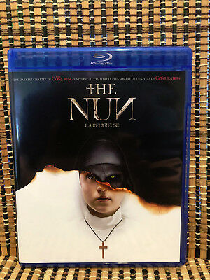 The Nun (2-Disc Blu-ray/DVD, 2018)+Slipcover.Conjuring Part 5.Horror.